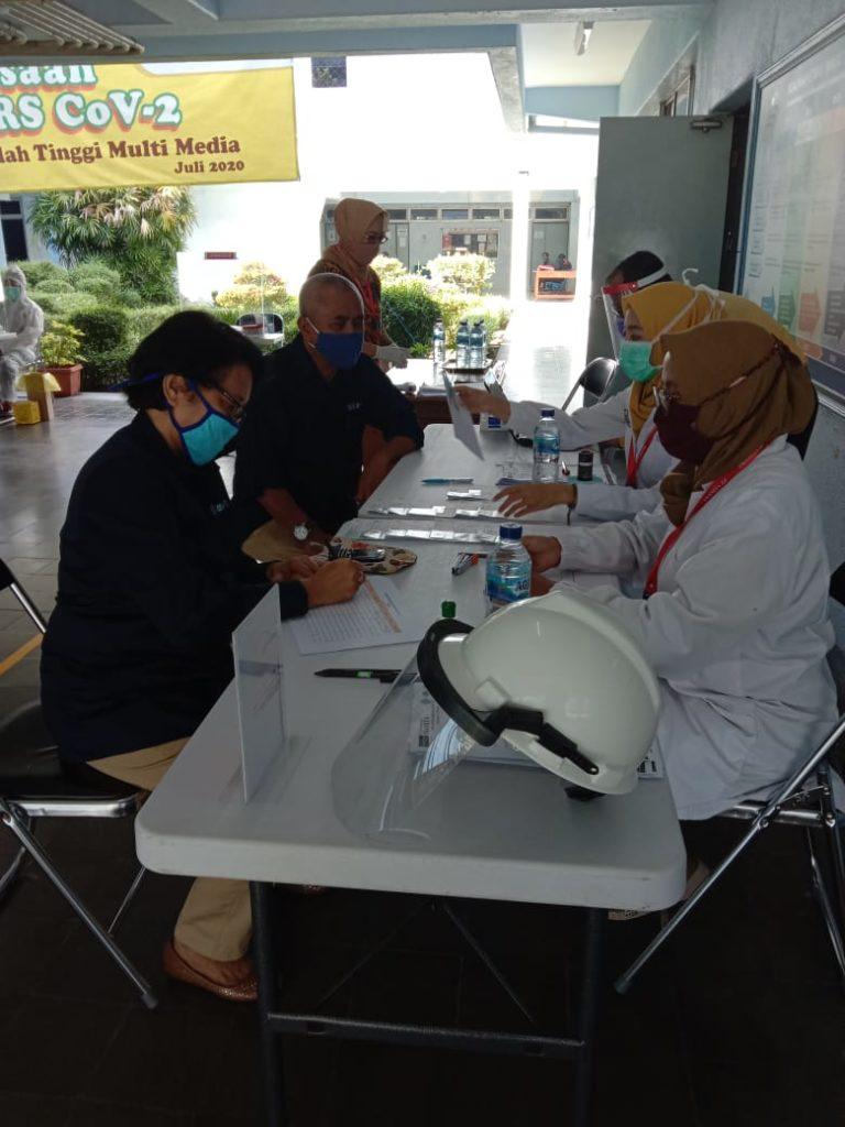 Pemeriksaan Anti SARS CoV-2 sekarang sudah dijalankan di kampus STMM MMTC Yogyakarta.