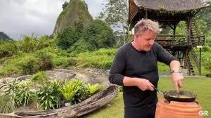 Fusion Rendang Omelette ala Gordon Ramsay