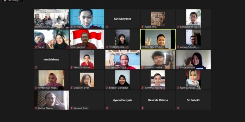 Rapat Kerja Online 2020 Sekolah Tinggi Multi Media Ypgyakarta (Dok. Alinea)
