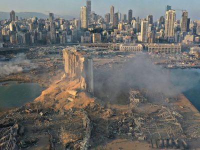 Ledakan Beirut Membuat Kawah Sedalam 43 Meter